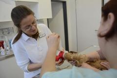 Behandlung einer Fußverletzung